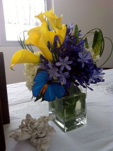 An arrangement I made the next weekend, inspired by the class!